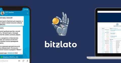 Как привязать аккаунты Telegram ChangeBot и Bitzlato