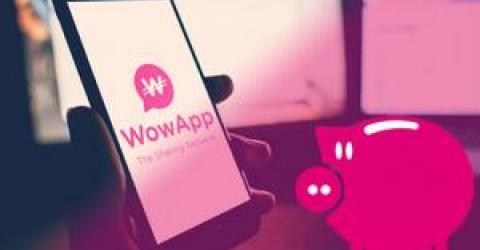 Wowapp месенджер, делит 70% доходов от рекламы между пользователями