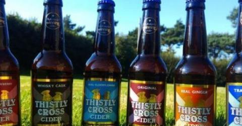 Любители сидра в Шотландии смогут приобретать алкоголь исключительно за биткоины